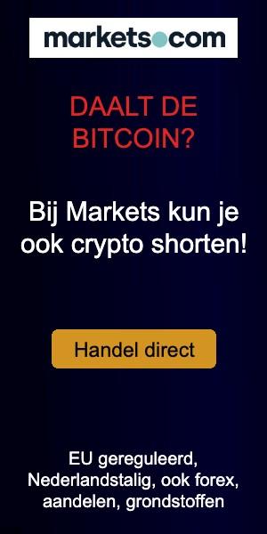 Markets bitcoin daling 300x600