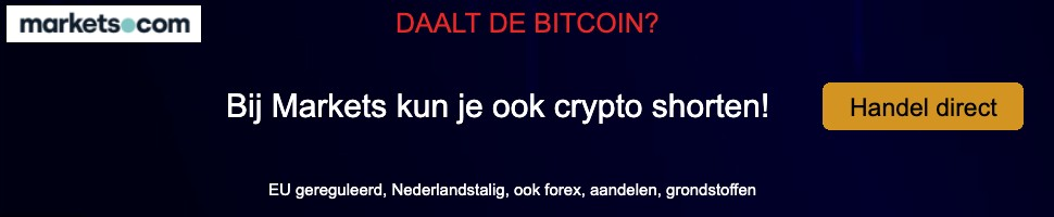 Markets bitcoin daling sitewide