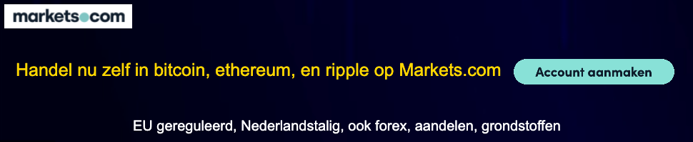 Handel in bitcoin bij Markets