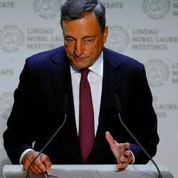 Euro na Draghi groen licht tegen dollar en wankele pond