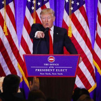 Dollar herstelt van warrige Trumpconferentie - focus nu op retail sales