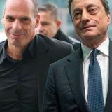 Euro volatiel na ECB besluit Griekse obligaties te weigeren