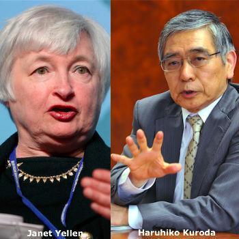 Forex focus deze week op Fed en BOJ - dollar opent lager