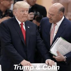 Dollar lager, vrees voor handelsoorlog groeit na opstappen adviseur Trump
