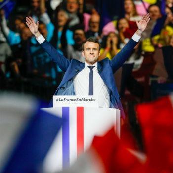 Winst Macron geeft euro weinig brandstof - vooruitzichten wel positief