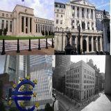 Kans groter ingrijpen centrale banken na zwakke cijfers EU, VS