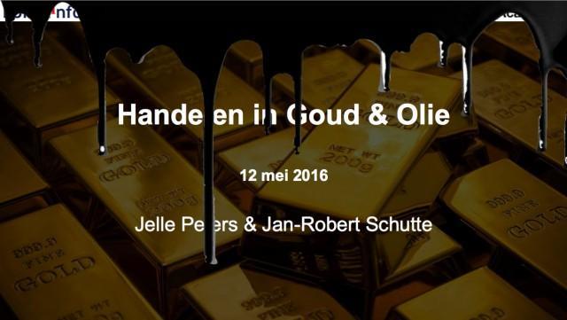 Webinar Goud en Olie